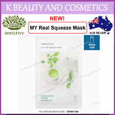5 pieces x [INNISFREE] My Real Squeeze (GREEN TEA) *NEW 2017! 20ml