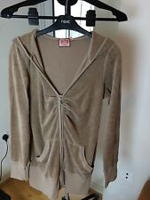 Juice Couture Size M Beige Long Line Top Track Suit Set Note There Is A Stain