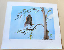 """Manfred Reusing (mares) - Kunstdruck - """"Vogel/Baum"""" - signiert/nummeriert"""