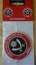 sheffield united football club car air freshener SUFC The Blades Red and White