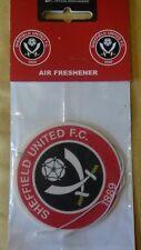 SHEFFIELD United Football Club Car Air Freshener sufc le lame in rosso e bianco