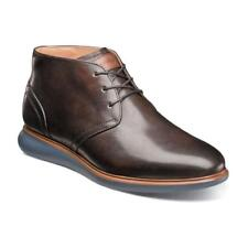 Florsheim Fuel Plain Toe Chukka Boot Brown  Dressy Leather 14241-200