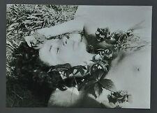 Sigmar Polke Limited Ed. Photo Print 30x21 Untitled Willich 1972 B&W SW Porträt
