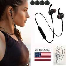 Bluetooth Headphone In-Ear Headset Wireless Waterproof Magnetic Earbud Sport Gym