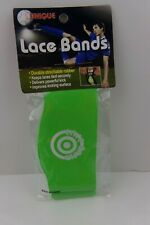 Unique Sports Lace Bands 2 Pk Green Soccer Cleat Lace Cover 078914197109