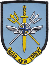 NATO Airborne Early Warning Force Command Embroidered Patch