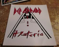 Def Leppard Sticker Collectible Rare Vintage 1990'S Metal Window Decal
