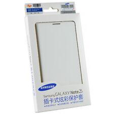 Official Samsung Galaxy Note 3 Stylish Flip Wallet Folio Storage Case  Cover
