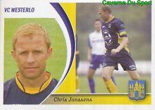 336 CHRIS JANSSENS BELGIQUE VC.WESTERLO STICKER FOOTBALL 2005 PANINI