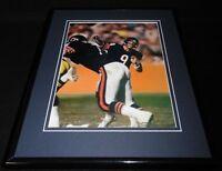 Jim McMahon 1986 Chicago Bears Framed 11x14 Photo Display