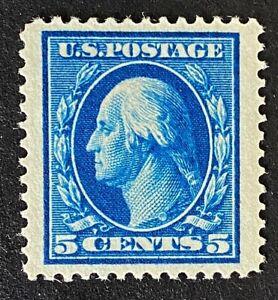 "US Stamp, Scott #378 5c 1911 Washington (2020) PSE GC XF 90 ""Jumbo"" M/NH."