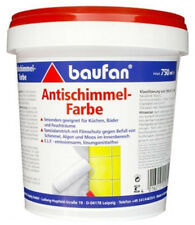Baufan  Anti Schimmel Farbe 750ml Spezialanstrich gegen Algen Schimmel Moos