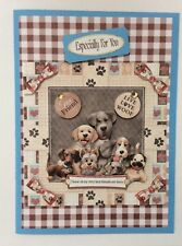 "Birthday /Ocassion card Handmade Humourous 3D   ""Best Friends are Furry!"""