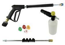 Premium Pressure Washer Swivel Gun/Foam/Lance Quick Release Nozzles Karcher K2-4