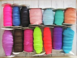 Fold Over Elastic FOE 16mm Wide- 5 Metres -Free P&P- Hair Bands/Baby/Lingerie