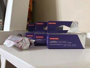 Lomochrome Purple 120 Film Expired Lot of Three Rolls Plus One Free