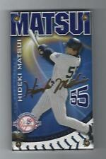 Hideki Matsui 2003 Authentic Images NY Yankees 100th Anniv. Cd.