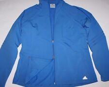 Adidas EUC Women's XL Blue Bonded Active Jacket - Worn 1x