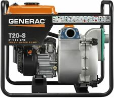 Generac 6920 T20-S 2-Inch Trash Pump with 211cc OHC Subaru Engine 185 GPM
