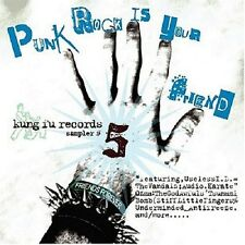 Punk Rock Is Your Friend 5 Kung Fu Records Sampler CD NEW Stiff Little Fingers+