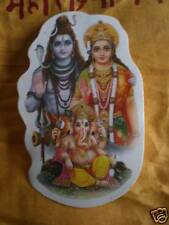 Aufkleber goa psy sticker indien Shiva Parvati Ganesha