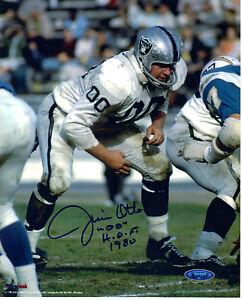 Jim Otto Oakland Raiders Signed 8x10 Photo Tri Star