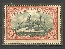 1908 German colonies East Africa 3 Rupien mint*, Michel #  39 I A a, $ 233.00