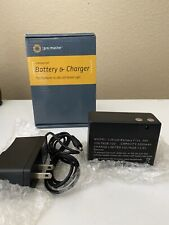 Battery & Charger For ProMaster Vl-380 Led Studio Light