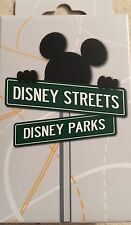 Disney Pins Two Mystery Pin Box For Street Signs Set