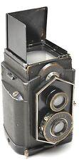 Zeiss Ikon IKOFLEX -Coffee Can 120/620 CAMERA w/Novar Anistigmat 1:4.5 8cm Lens