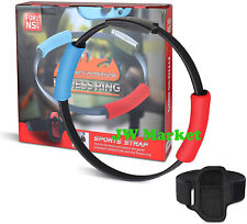 For Nintendo Switch Ring Fit Adventure Fitness Healthy Exercise -Ring-Con+ Strap