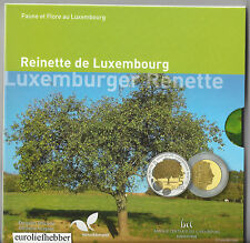 Luxemburg      5  Euro 2014    PP  silver-nordic gold coin    APPLE TREE