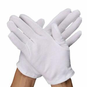 2 Paar Baumwollhandschuhe Trikothandschuhe Allergiker Stoffhandschuhe NEU Paypal