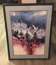 MICHAEL ATKINSON AMETHYST CANYON SIGNED & NUMBERED #/1000 29x36.5 ARTIST PROOF