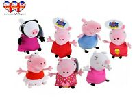 Peppa Pig Plush Characters,Soft Toys, 28CM, Official Licensed