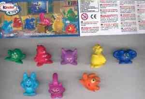 Monstres Métier À à Choisir (UN028 - UN035) Kinder Surprise Italie 2010/2011