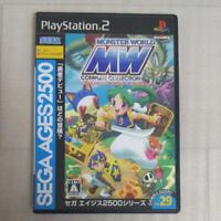 PS2 SEGA AGES2500 Monster World Complete Collection PlayStation2 Video Game
