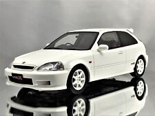 Otto Mobile Ottomobile Honda Civic Type R EK9 1999 JDM White Resin Car Mode 1:18