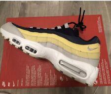 Nike Air Max 95 Essential trainers Mens uk 8 BNIB Genuine Blue Yellow Colour