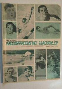 Swimming World & Junior Swimmer Magazine Vol. 9 #10 October 1968 Olympic Games