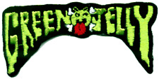 9682 Green Jelly Band Logo Comedy Rock Metal Punk Embroidered Sew Iron On Patch