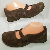 Teva Womens US 8.5 Ventura S/N 4028 Brown Suede Casual Mary Jane Casual Shoes