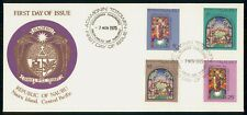 Mayfairstamps Nauru FDC 1975 Stained Glass Combo First Day Cover wwh_21413