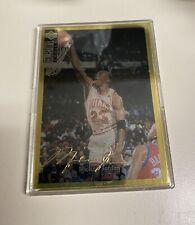 michael jordan 1994 upper deck collector's choice gold signature #240