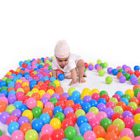 Qute 50X 5.5cm Soft Plastic Water Pool  Ocean Ball Baby Kid Swim Pit Toy  ME