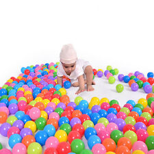 50X 5.5cm Soft Plastic Water Pool Ocean Ball Baby Kid Swim Pit Toy Small 24h
