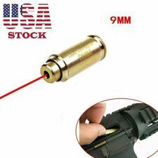 New ListingBoresight Cal 9mm Red Dot Laser Bore Sight Calibrator Cartridge For Hunting