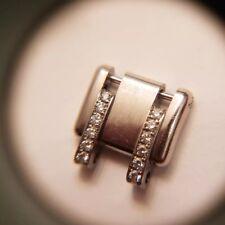 Rolex Ladies Pearlmaster Masterpiece 18k White Gold Diamond Factory Link 13mm