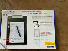 New opened ACECAD DigiMemo 692 Digital Notepad Write Organize