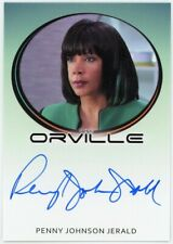 New Listing2020 The Orville Archives Autograph Penny Johnson Jerald Bordered Autograph